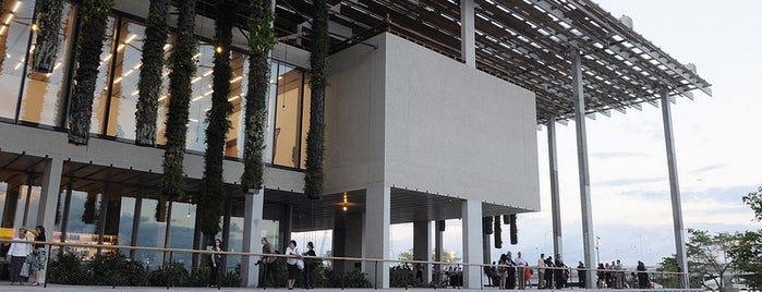 Pérez Art Museum Miami (PAMM) is one of The 15 Best Places with Scenic Views in Miami.