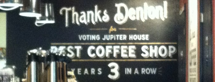 Jupiter House Coffee is one of Beans, Brews, and Buzz.