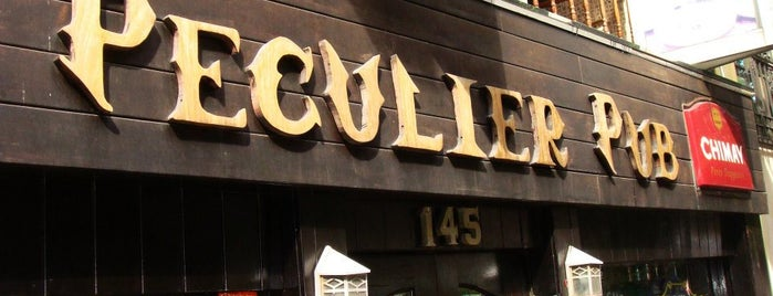 Peculier Pub is one of NYC.