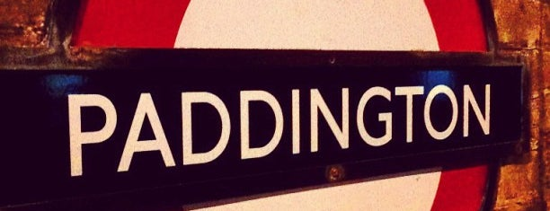 Paddington London Underground Station (District, Circle and Bakerloo lines) is one of Terminais!.