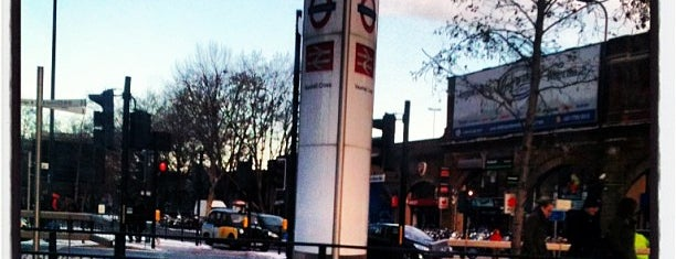 Vauxhall London Underground Station is one of Terminais!.