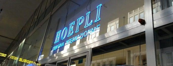 Libreria Internazionale Ulrico Hoepli is one of Mi.