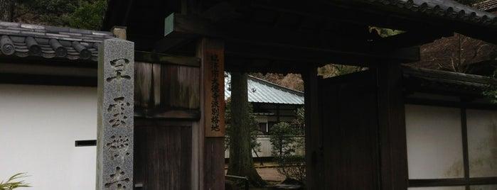 早雲寺 is one of 中世・近世の史跡.