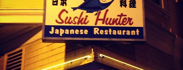 Sushi Hunter is one of Top Restaurants.