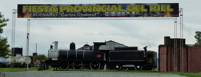 Estación Basavilbaso [Ferrocarril Central Entrerriano] is one of Trenes.