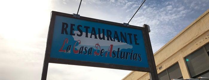 La Casa de Asturias is one of comidas.