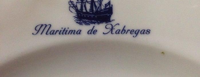 Marítima de Xabregas is one of Restaurantes.