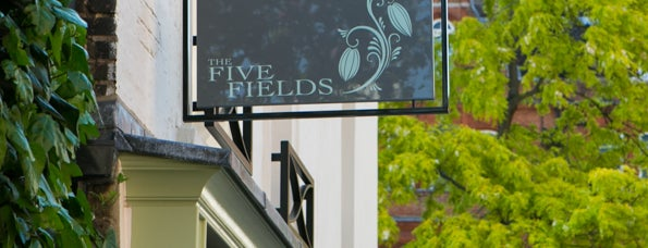 The Five Fields is one of London.