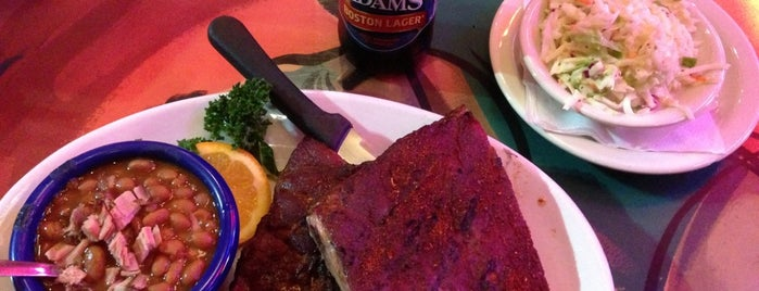 Red Hot & Blue  -  Barbecue, Burgers & Blues is one of Exploring Dallas~.