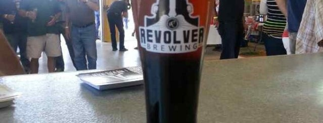 Revolver Brewing is one of Texas breweries.