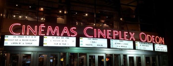 Cinéma Cineplex Odeon Quartier Latin is one of Arcades.