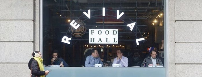 Revival Food Hall is one of 40 Top-Rated Food Halls in the U.S..