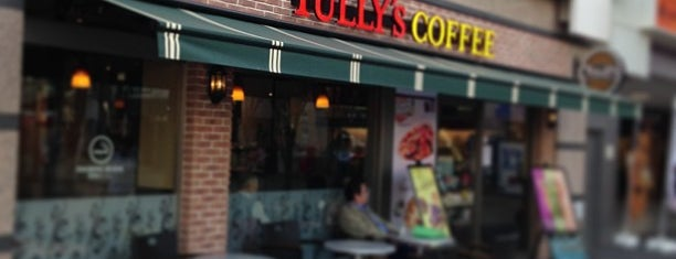 Tully's Coffee is one of Caffein.