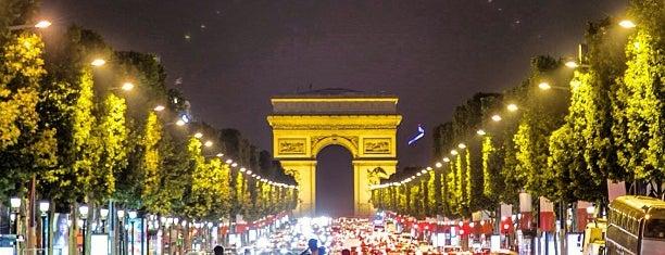 Rond-point des Champs-Élysées – Marcel Dassault is one of Most famous places in Paris.