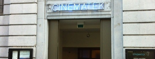 Cinematek is one of Bruxelles, ma belle.