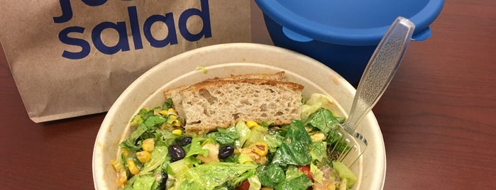 Just Salad is one of The 9 Best Salad Places in Philadelphia.
