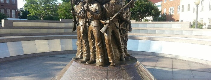 African American Civil War Memorial is one of ♡DC.