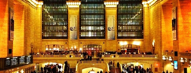 Grand Central Terminal is one of Favorite Haunts.