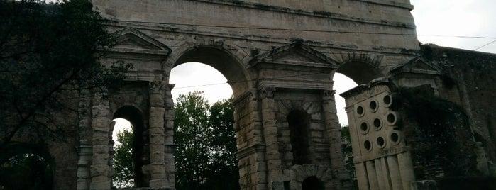 Porta Maggiore is one of 101 cose da fare a Roma almeno 1 volta nella vita.