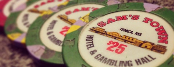 Sam's Town Tunica Hotel & Casino is one of Tunica, MS Casinos.