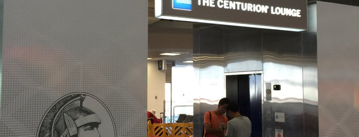 The Centurion Lounge Miami is one of Relax!.