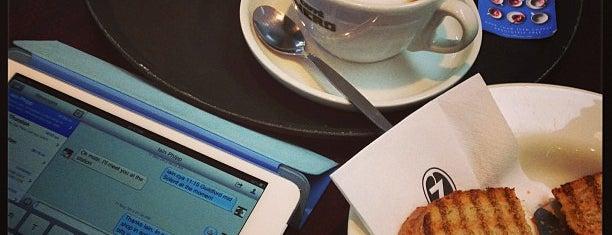 Caffè Nero is one of Best Coffices in London.