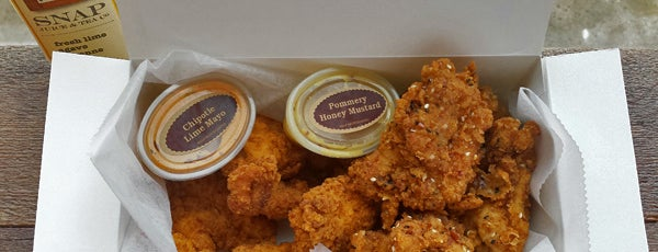Wishbone Craft Fried Chicken is one of Philly.