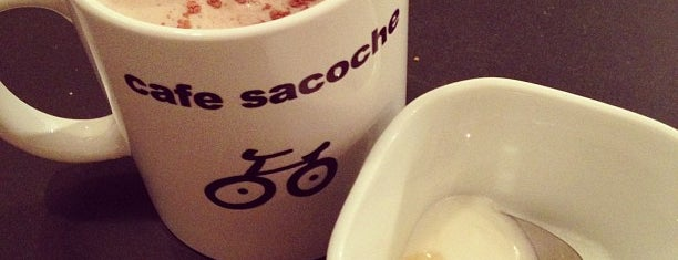 cafe sacoche (サコッシュ) is one of 東京.