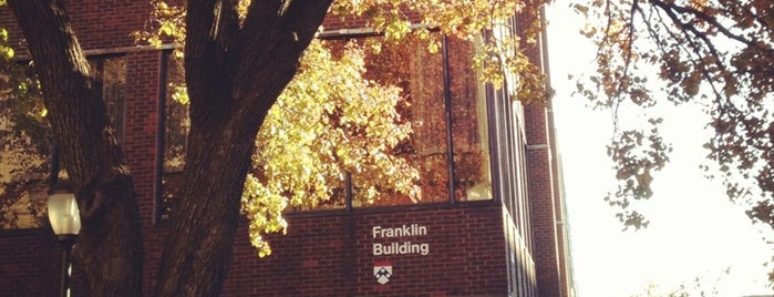Franklin Building is one of Alyssa's University City.