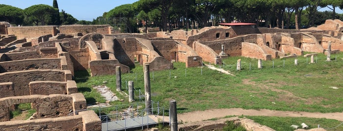 Ostia Antica is one of ZeroGuide • Roma.