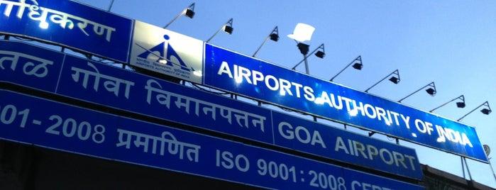 Goa International Airport / Dabolim Airport (GOI) is one of Best of GOA, #4sqCities.