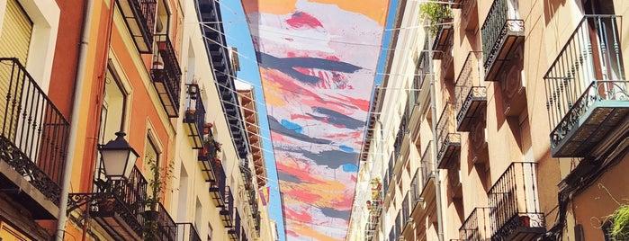 Barrio de las Letras is one of Madrid.