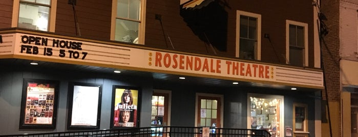 Rosendale Theatre is one of Things to do in the New Paltz area.