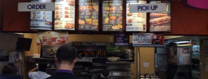 Taco Bell/Dunkin Donuts is one of New York.