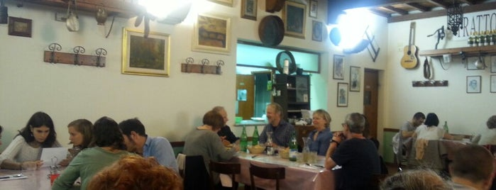 Trattoria Sabatino is one of Florence.