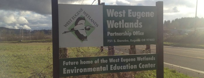 West Eugene Wetlands is one of Outdoor places.