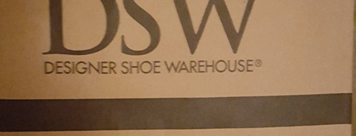 DSW Designer Shoe Warehouse is one of places.