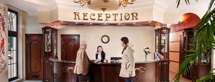 Staro Hotel is one of Free wi-fi places in Kiev..