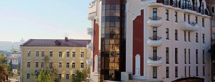 """Staro Hotel is one of Локації конкурсу """"Полювання на """"Прайд"""", Київ."""