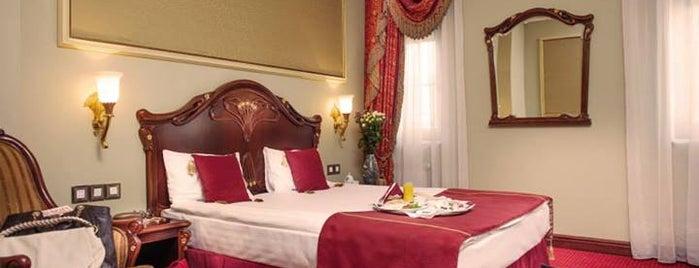 Staro Hotel is one of отели Киева.