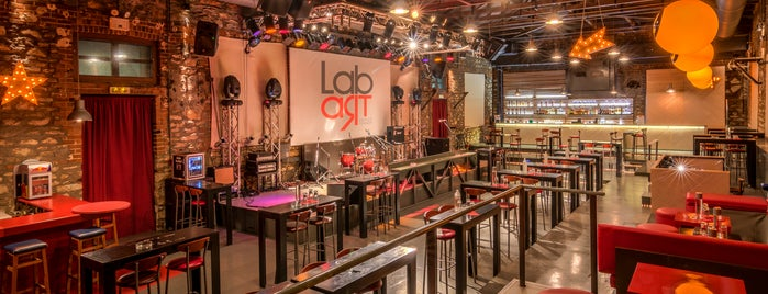 Lab Art is one of The best after-work drink spots in Volos.