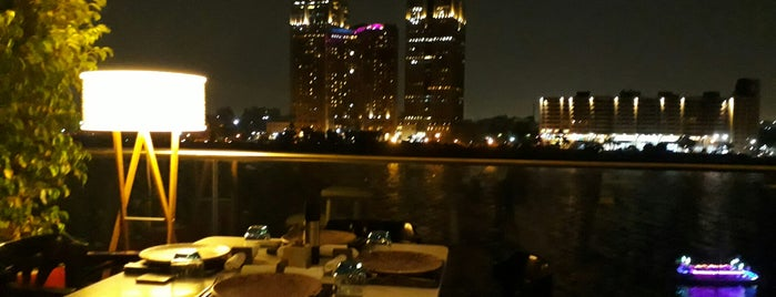 Crimson Bar & Grill is one of Cairo NightLife.