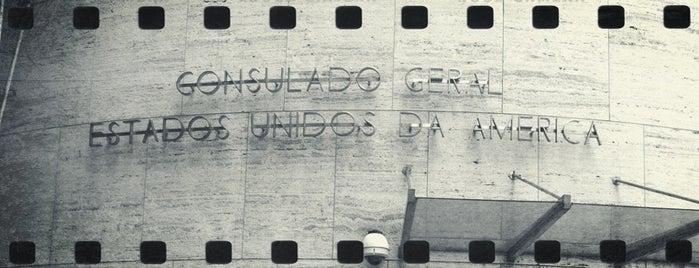 Consulado Geral dos Estados Unidos is one of Rio 2013.