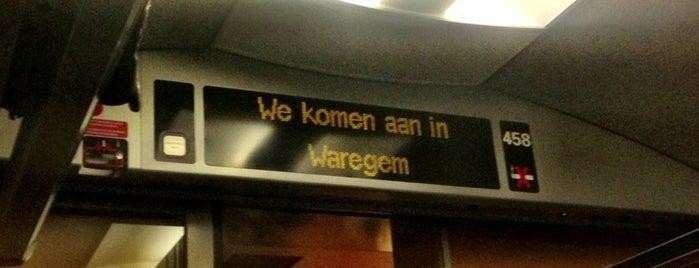 Station Waregem is one of Bijna alle treinstations in Vlaanderen.