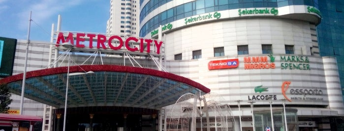 MetroCity is one of İstanblue.