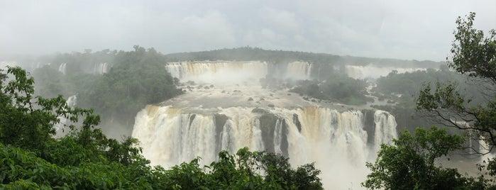Iguassu National Park (Brazil) is one of Foz do Iguaçu.