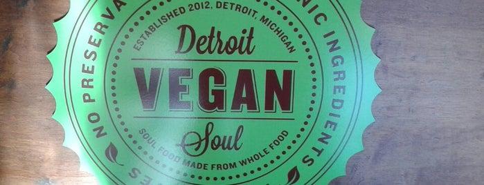 Detroit Vegan Soul is one of Detroit Lunch Bus.