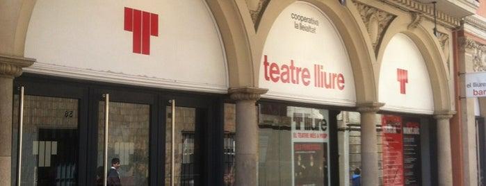 Teatre Lliure is one of My restaurants :).