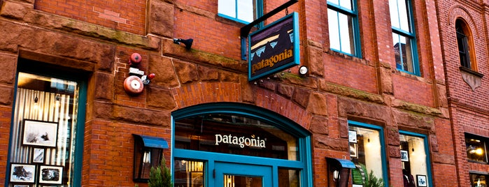 Patagonia Boston is one of The 13 Best Places for Boots in Boston.