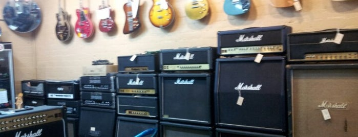 Cowtown Guitars is one of Las Vegas' Antique Alley.